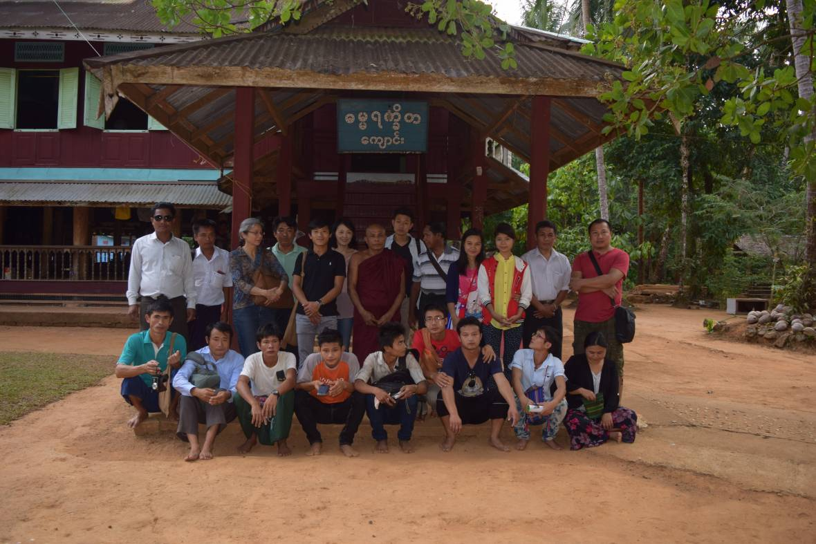 Group photo Myanmar - Myanmar/Cambodia - MOSAIC project