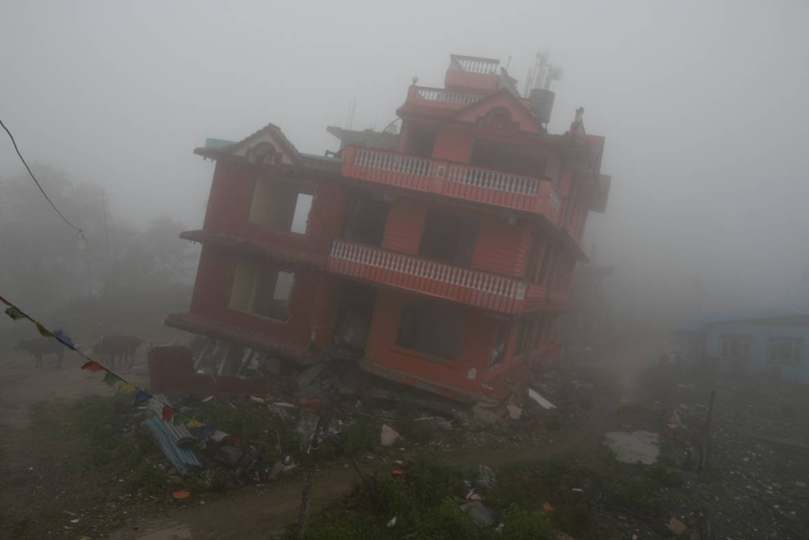 Earthquake in Chisapani Nepal - When disaster meets conflict