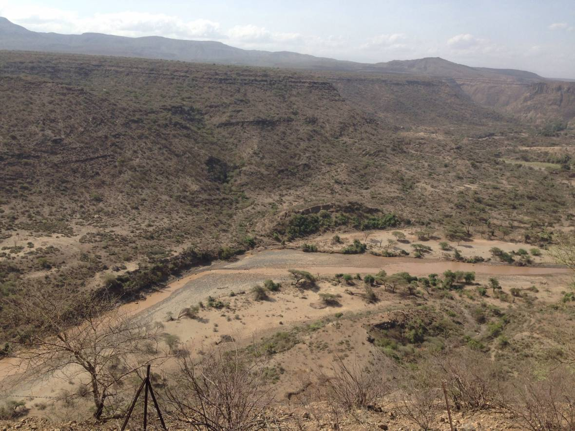Ethiopia drought - aerial view - When disaster meets conflict