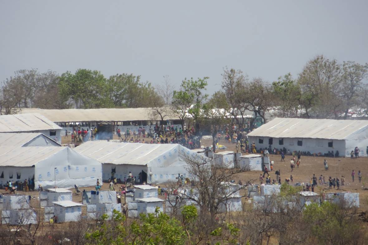 South Sudan refugee camp in Uganda - When disaster meets conflict