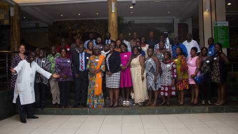 Alumni meeting in Ghana 2017
