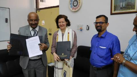MoU, ISS and National Law School of India University