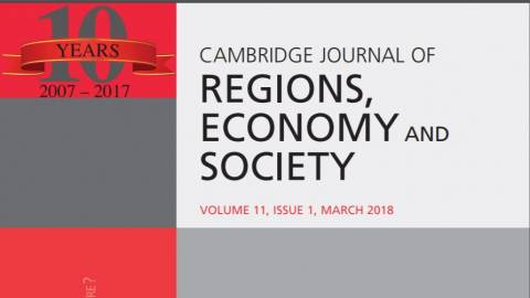 Cambridge Journal of Regions, Economy and Society - cover -2018