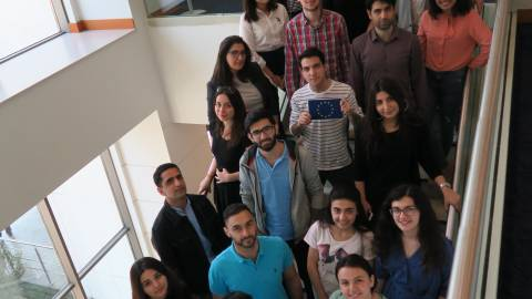 Course participants - Conflict, Migration and Displacement in Baku, Azerbaijan - May 2018