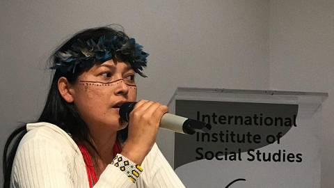 Amazon indigenous people, global agribusiness and authoritarian government - Vandria Borari - 27 May 2019