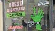 Brexit nightmare shop sign