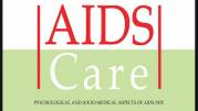 AIDS Care journal cover